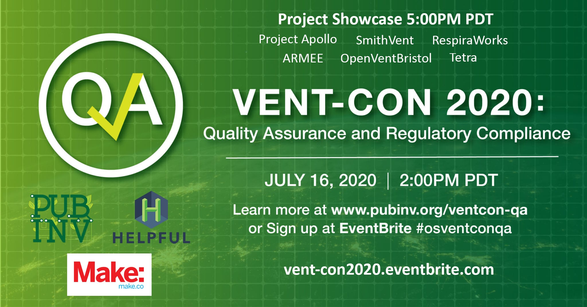 Vent-Con2020 Quality Assurance and Regulatory Compliance